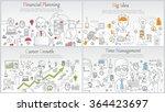 doodle line design of web... | Shutterstock .eps vector #364423697