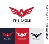 eagle star logo template   Shutterstock .eps vector #364432547
