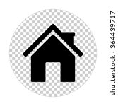 home    black vector icon | Shutterstock .eps vector #364439717