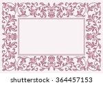 floral pattern for invitation... | Shutterstock .eps vector #364457153