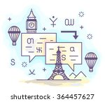 color vector illustration of a... | Shutterstock .eps vector #364457627
