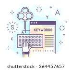 vector illustration in modern...   Shutterstock .eps vector #364457657
