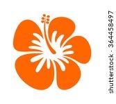 hibiscus logo vector | Shutterstock .eps vector #364458497