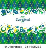 bright vector carnival... | Shutterstock .eps vector #364465283