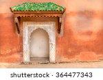 typical decorated moroccan door ... | Shutterstock . vector #364477343