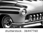vintage black and white  hot... | Shutterstock . vector #36447760