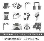 collection vector elements for... | Shutterstock .eps vector #364483757