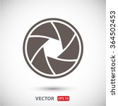 camera objective  icon. one of... | Shutterstock .eps vector #364502453