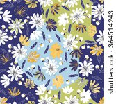 seamless floral background.... | Shutterstock .eps vector #364514243