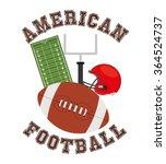 american football design  | Shutterstock .eps vector #364524737