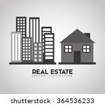 real estate design  | Shutterstock .eps vector #364536233