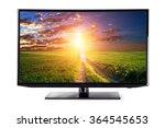 4k monitor isolated on white | Shutterstock . vector #364545653