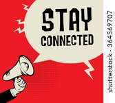 megaphone hand  business... | Shutterstock .eps vector #364569707