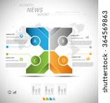 business infographic template... | Shutterstock .eps vector #364569863