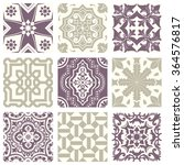 classic vintage elegant pastel... | Shutterstock .eps vector #364576817
