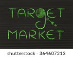 marketing concepts  the words ...   Shutterstock . vector #364607213