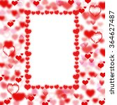 background hearts. feast of st. ... | Shutterstock . vector #364627487
