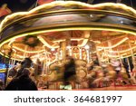 merry go round at george square ... | Shutterstock . vector #364681997
