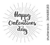 hand lettering calligraphic... | Shutterstock .eps vector #364688183