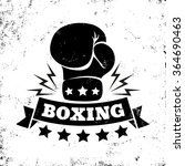 vintage logo for a boxing on...   Shutterstock .eps vector #364690463
