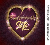 valentines day sale  ... | Shutterstock .eps vector #364698137