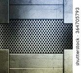 metal plate background | Shutterstock . vector #364705793