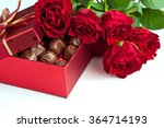 Gift Box Of Chocolate Truffles...
