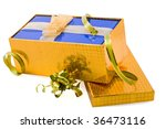 gift package two in one on white | Shutterstock . vector #36473116