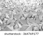 abstract grey futuristic... | Shutterstock . vector #364769177
