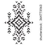 hand drawn tribal design element   Shutterstock .eps vector #364773563