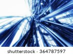 3d futuristic abstract... | Shutterstock . vector #364787597