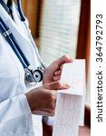 electrocardiogram  ecg in hand  ...   Shutterstock . vector #364792793