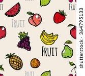 seamless pattern of icons with... | Shutterstock .eps vector #364795133