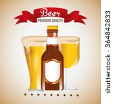 cold beer design  | Shutterstock .eps vector #364842833