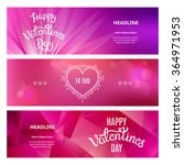 set of beautiful banners on st. ... | Shutterstock .eps vector #364971953