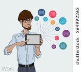 vector illustration of man...   Shutterstock .eps vector #364992263