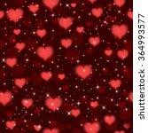 valentines seamless pattern... | Shutterstock .eps vector #364993577