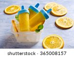 homemade fruit popsicle with... | Shutterstock . vector #365008157