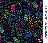 vector seamless pattern of... | Shutterstock .eps vector #365033147