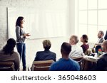 conference training planning... | Shutterstock . vector #365048603
