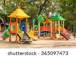 children kid playground for... | Shutterstock . vector #365097473