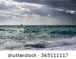 Ships In The Stormy...