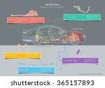 diagram systems in motor... | Shutterstock .eps vector #365157893