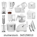 Set Of Kitchen Appliances ...