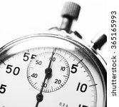 stopwatch black and white | Shutterstock . vector #365165993