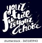 hand written text element.... | Shutterstock . vector #365185943