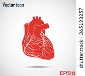 heart icon | Shutterstock .eps vector #365193257