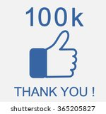 thank you background. vector ... | Shutterstock .eps vector #365205827