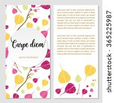 botanical organic style...   Shutterstock .eps vector #365225987