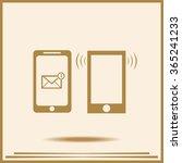 mobile icon | Shutterstock .eps vector #365241233